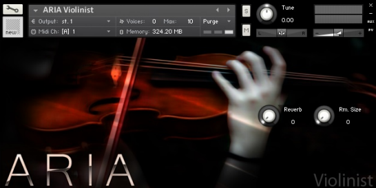 دانلود وی اس تی ویولن-ARIA Sounds - Violinist Kontakt