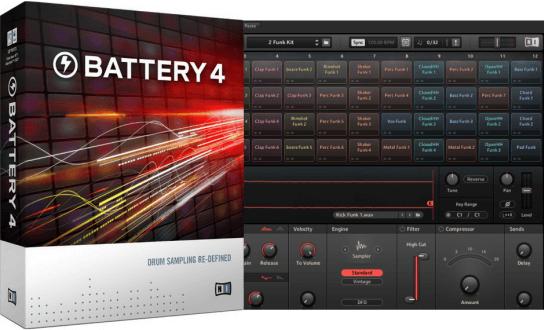 Native Instruments Battery 4 (Mac OS X)