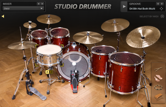 Native Instruments Studio Drummer v 1 1