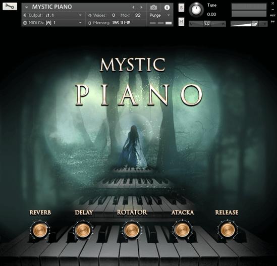 TH Studio Production - MYSTIC PIANO (KONTAKT)